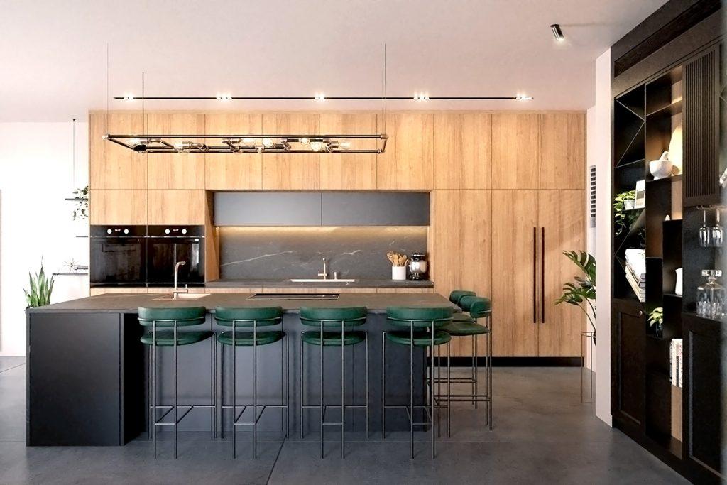 עיצוב מטבח - משפחת לוי