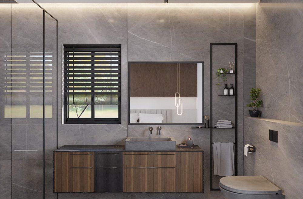 עיצוב שרותים ואמבטיה