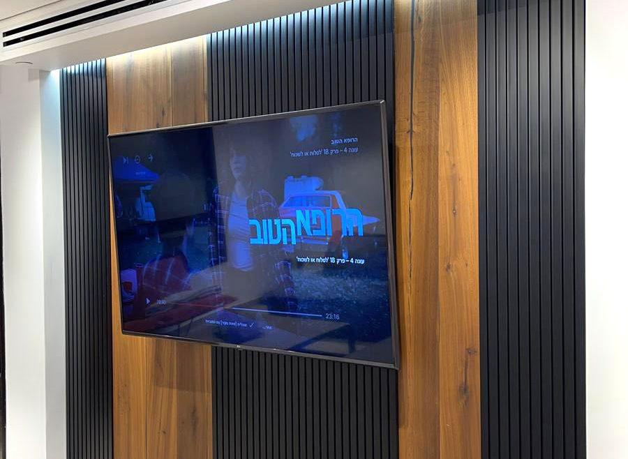 עיצוב קיר טלוויזיה